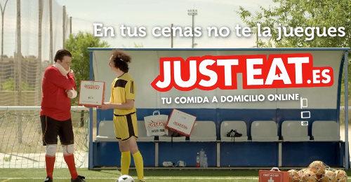 Just Eat anuncio